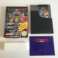 Pin Bot | OVP + Anleitung + Schuber | NES PAL-B CIB | Pinball Flipper Pinbot