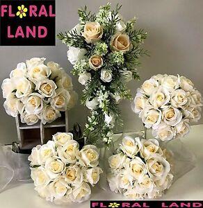 White Lilac Bridal Bouquet