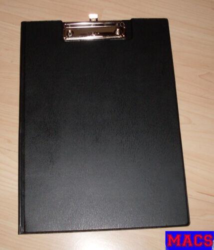 Klemmmappe Maul A4 schwarz Schreibbrett mit Halterung Klemmmappe zum Öffnen Neu