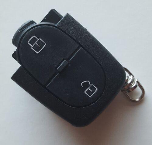 Fits Audi A2 A3 A4 A6 A8 TT 2 Button Remote Key Fob Case Takes CR1620 Battery