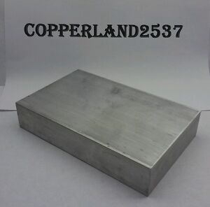 """3 pc 1//4 X 5//8/"""" X 12/"""" long new 6061 T6 solid aluminum plate flat stock bar block"""