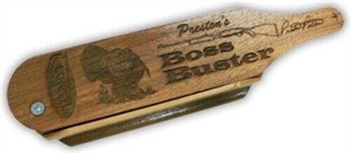 PP402 Pittman Game Preston/'s Boss Buster Turkey Call