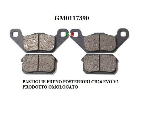 Bremsbeläge Hinten Chatenet Ch 26-40 Dal 2015 auf Gm0117390