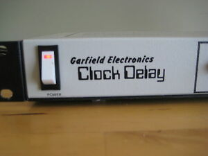 Garfield Electronics Clock Delay