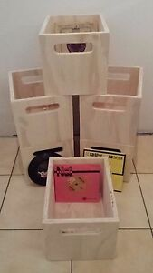 Vinyl-record-crate-milk-crate-Ply-Crate-Vinyl-Records-storage-box-to-suit-45s