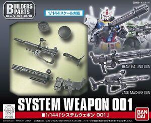 Bandai 1/144 RG HG Gundam Zaku Machine Beam Gun System