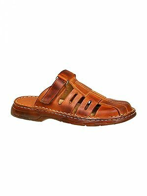 Zielstrebig New Men Sandals Top Natural Buffalo Leather Slip On Shoes Uk Sizes 7 8 9 10 11