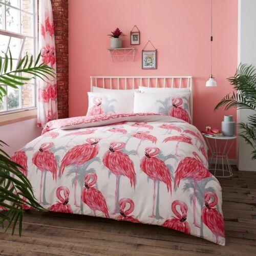 Luxury Flamingo Duvet set 3Pcs Duvet//Quilt Set Pillow Cases Bedding Set Bed Set