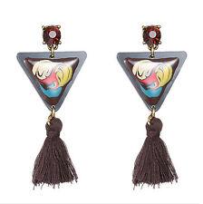 MARNI H&M   Triangle Tassel  Earring Set