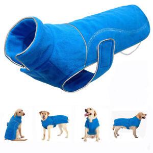 Hundemantel-Hunde-Kleider-Wintermantel-Hundebekleidung-Hundejacke-FleeceS-5XL