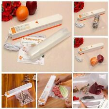 Home Automatic Electric Vacuum Food Packing Sealer Machine Plastic Vacuum Bag