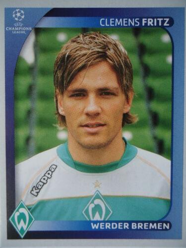 Panini 184 Clemens Fritz Werder Bremen UEFA CL 2008//09