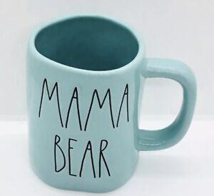 Rae-Dunn-Mom-Collection-By-Magenta-MAMA-BEAR-Farmhouse-Tiffany-BLUE-TEAL-Mug