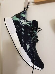 new style 6d1f0 4ca32 Image is loading Adidas-NMD-R1-PK-Size-12-Black-White-