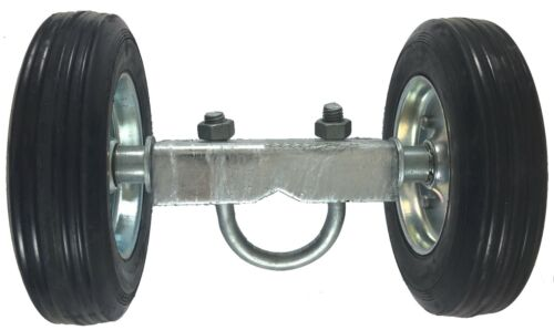 """6/"""" CHAIN LINK WALL MOUNTED ROLLING GATE HARDWARE KIT Heavy Duty Galvanized"""