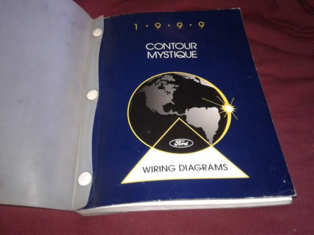 1999 Ford Contour    Mercury Mystique Wiring Diagram Manual