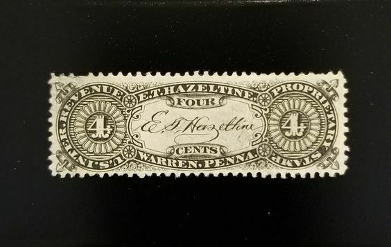 E. T. Hazeltine 4c U.S. Internal Revenue RS103b Private