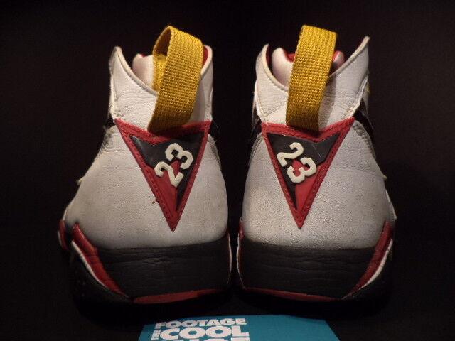2006 2006 2006 Nike Air Jordan VII 7 Retro WHITE BLACK CARDINAL RED BRONZE GOLD Sz 11.5 f6128b