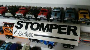 1-Black-12-034-Long-Vinyl-Schaper-034-STOMPER-4-X-4-034-Truck-Sticker-Decal