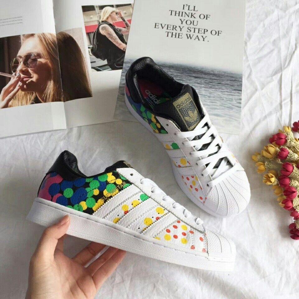 Neue männer adidas superstar stolz pack turnschuhe 9,5 cm7802-schuhe seltenen farbe sz 9,5 turnschuhe uns 323d95
