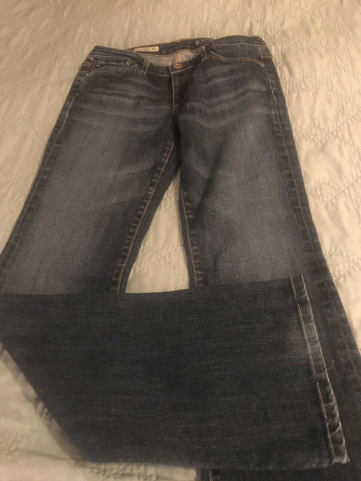 AG Adriano goldschmied Womens Jeans  The Jessie  Curvy Bootcut Size 27R