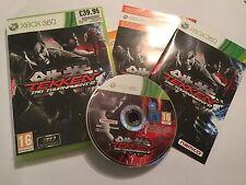 XBOX 360 GAME TEKKEN TAG TOURNAMENT 2 / II +BOX & INSTRUCTIONS COMPLETE PAL