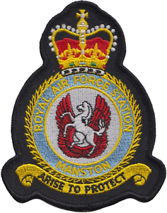 RAF-Manston-Royal-Air-Force-MOD-Crest-Embroidered-Patch