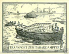 Port Kavala Burgas Istanbul Smyrna TOBACCO HISTORY HISTOIRE TABAC IMAGE CARD 30s