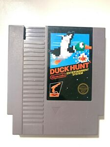 Nintendo NES Duck Hunt Light Gun Video Game Cartridge *Authentic/Cleaned/Tested*