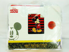 "Disney Mickey Mouse /""LOVE/"" Sherpa Throw Blanket 50/""x60/"""