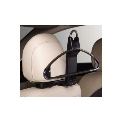 HeadSter in-car headrest coat or clothes hanger system