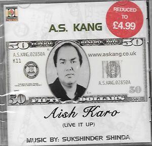 Karo As aish karo a s kang punjabi songs cd free uk post ebay