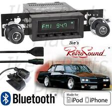 RetroSound 73-88 Monte Car Model TWO-B Radio/BlueTooth/iPod/USB/Mp3/3.5mm AUX-In