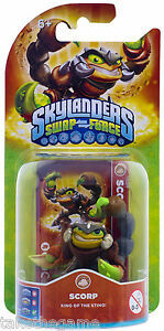 Skylanders-Swap-Force-SCORP-New-Character-Single-Figure-Pack-BNIP