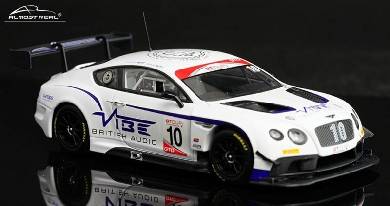 Bentley Continental Gt3 Jordan Witt Racing  10 2016 Gt Cup Series Champions 1:43