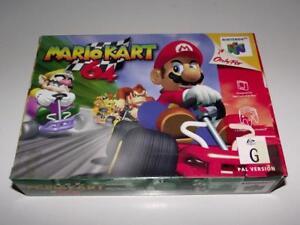 Mario-Kart-64-Nintendo-64-N64-Boxed-PAL