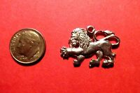 20 Pewter Lion Charms
