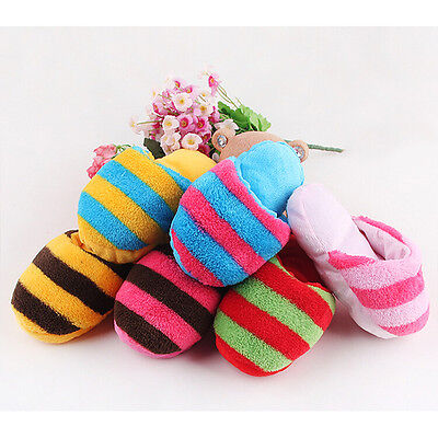 Best-selling Dog Toy Pet Puppy Chew Play Squeaker Sound Cute Plush Slipper Shape