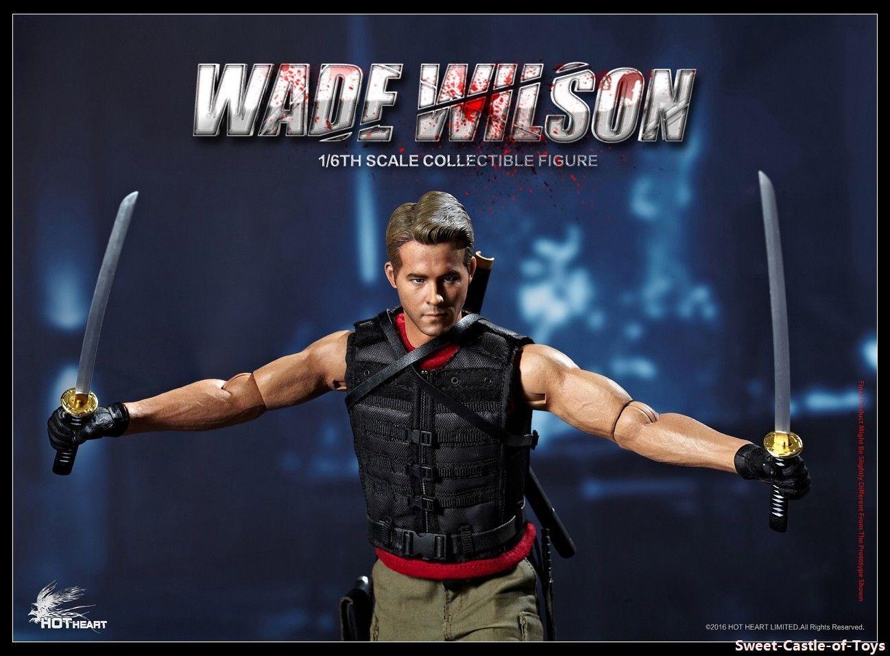 Hot Heart 1 6 scale Wade - X Men Origins
