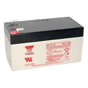 Yuasa-NP1-2-12EBALT4-UB1213-12V-1-3Ah-Emergency-Exit-Lighting-SLA-Battery