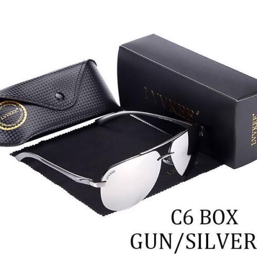Polarized Sunglass Men Driving UV400 Hot Rays Brand Original Packaging Glasses
