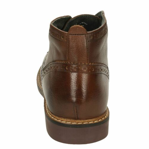 Ankle Base Trick Boot Leather Brown London wwISqHnOa