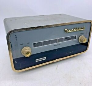 British 1960s Vintage Rare Heathkit Valve FM4U FM Wave Band Tuner