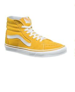 d3f05d13e5ca5a 10.5 Mens NEW! Vans Sk8-Hi Top Sneaker Skate Shoes Spectra Yellow ...
