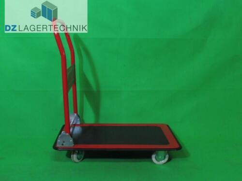 SSI Schäfer Plattformwagen rot 150 kg Transportwagen Handwagen Lagerwagen Stahl