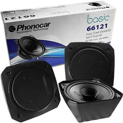 phonocar retro aufbau lautsprecher boxen f r transporter auto oldtimer camping ebay. Black Bedroom Furniture Sets. Home Design Ideas