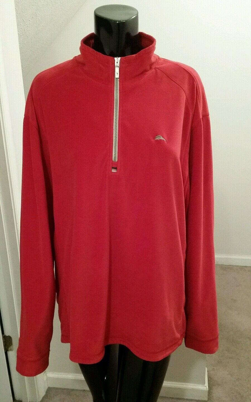 Tommy Bahama Half Zip  Herren Sweater Größe XL