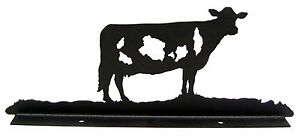 Holstein-Cow-Mailbox-Topper-Decor