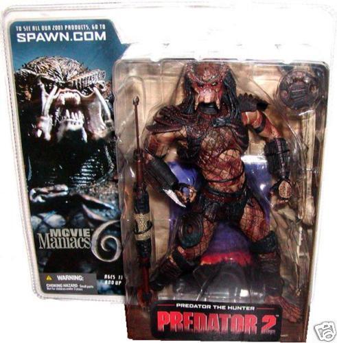 Movie Maniacs series 6 PREDATOR 2 HUNTER figure-Alien-Aliens-AvP-McFarlane Toys