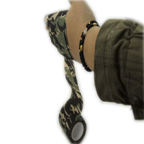 5CMx4.5Meter Camo Hunting Camping Bionic Camouflage Stealth Tape Waterproof